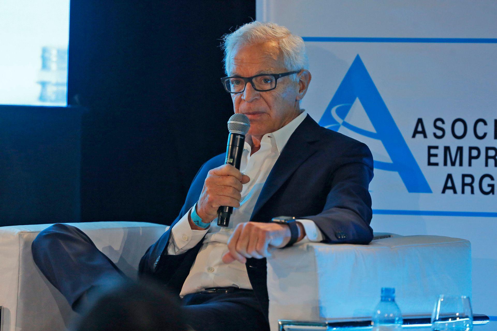 Eduardo Constantini, fundador del Malba y titular de Consultatio