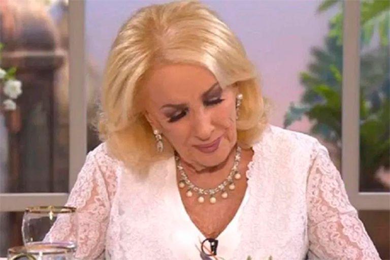 """En Intrusos homenajearon a Silvia """"Goldy"""" Legrand y Mirtha se emocionó hasta las lágrimas"""