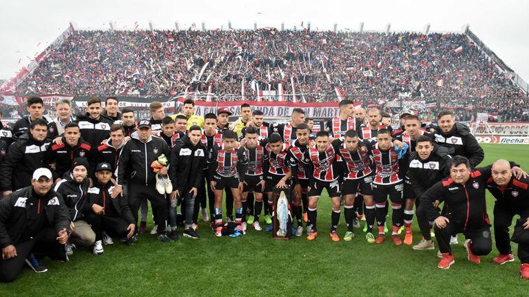El Funebrero volvió a la elite del fútbol argentino