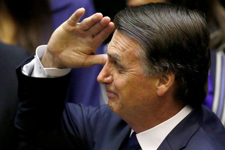Bolsonaro, el día de la elección