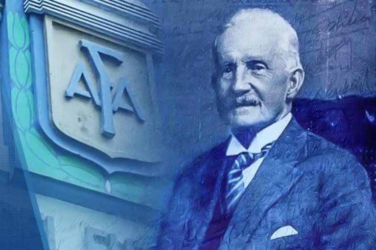 Alexander Watson Hutton fue el fundador y primer presidente de la Argentine Association Football League, antecesora histórica de la AFA