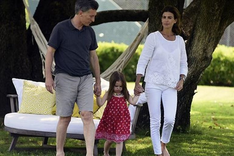 Macri ya estuvo tres veces en lo que va del año en el complejo playero; allí siempre busca descansar con su familia