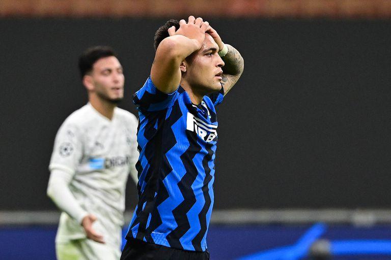 Champions. Inter igualó con Borussia Mönchengladbach un juego que se le escapaba