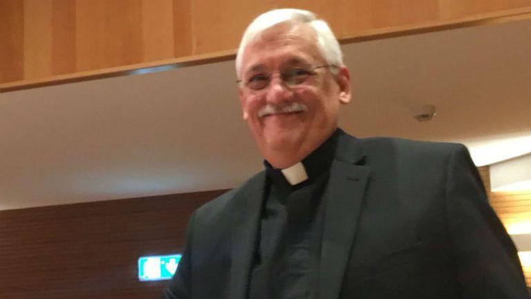 El padre Arturo, es la nueva cabeza de los jesuitas