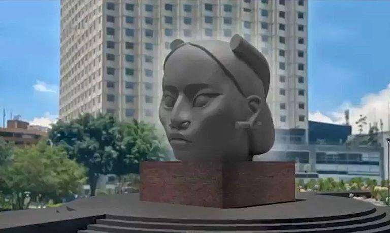 Una escultura en lugar de un monumento a Colón: eje del debate