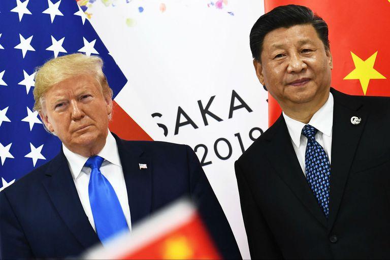 Trump, en su reunión con Xi en Osaka, Japón, en junio pasado