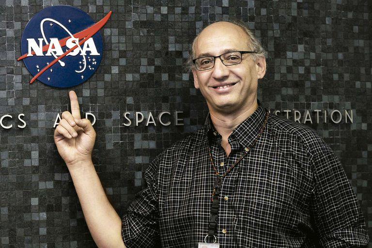 En el Jet Propulsion Laboratory,  en 2012.