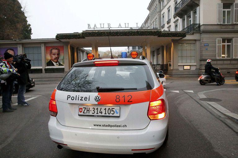 Así detuvieron a los dirigentes en Suiza