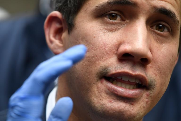 Juan Guaidó encabeza la oposición desde principios de 2019