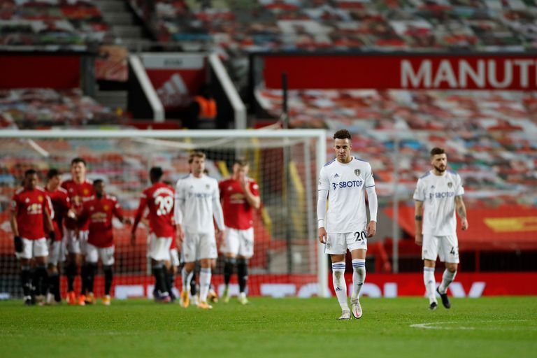 Leeds fue vapuleado por Manchester United por 6-2 en Old Trafford