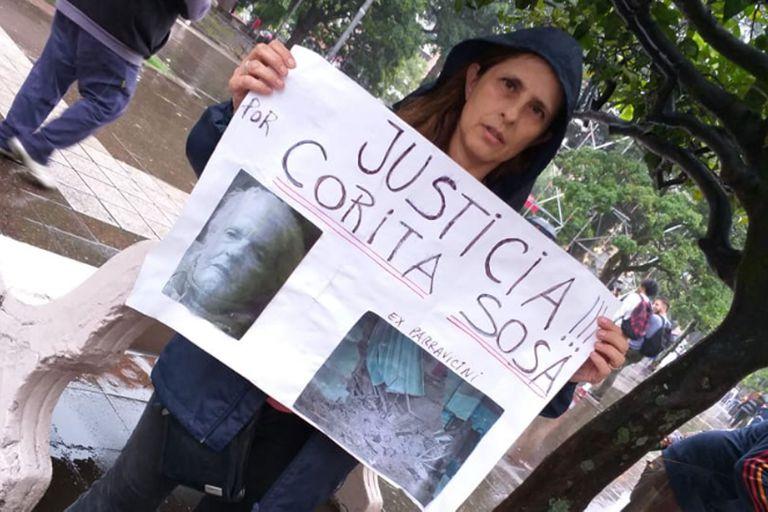 Lucrecia Augier pide justicia a un año del derrumbe del ex cine teatro Parravicini de Tucumán, que causó la muerte de tres personas, entre ellas, su pareja y su suegra