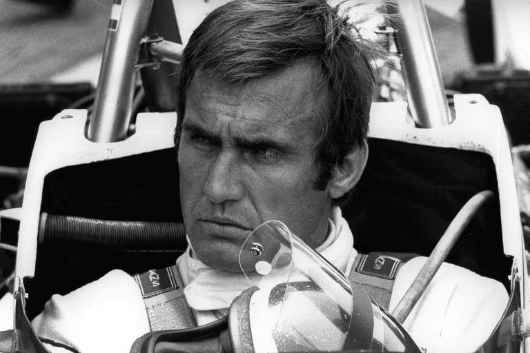 Agosto de 1975, en Nürburgring: Lole con su Brabham