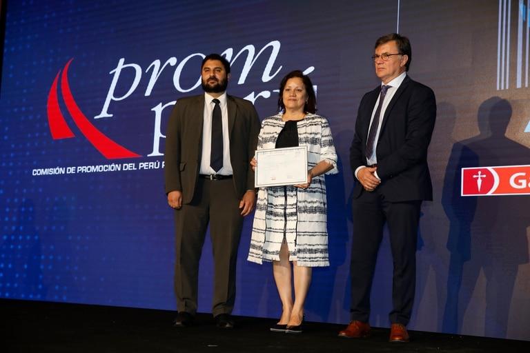 Premio Aliment.AR a la excelencia agroexportadora, mención para PromPerú