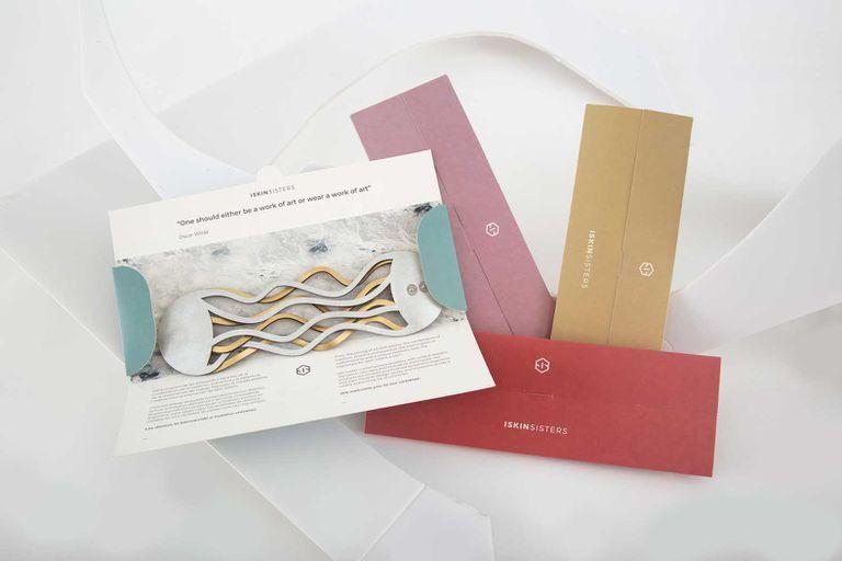 El nuevo packaging de las piezas trae arte realizado por mujeres