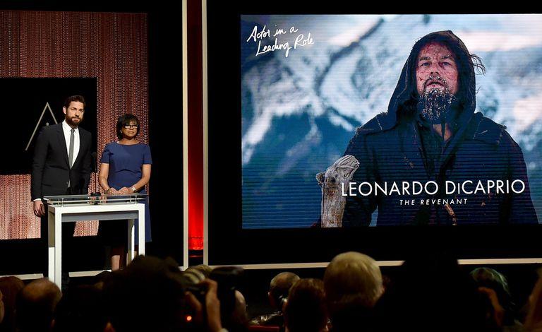Leonardo DiCaprio compite en la categoría mejor actor