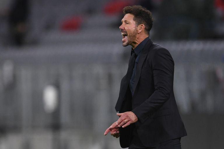 No alcanzaron los gritos de Simeone para corregir al Atlético de Madrid