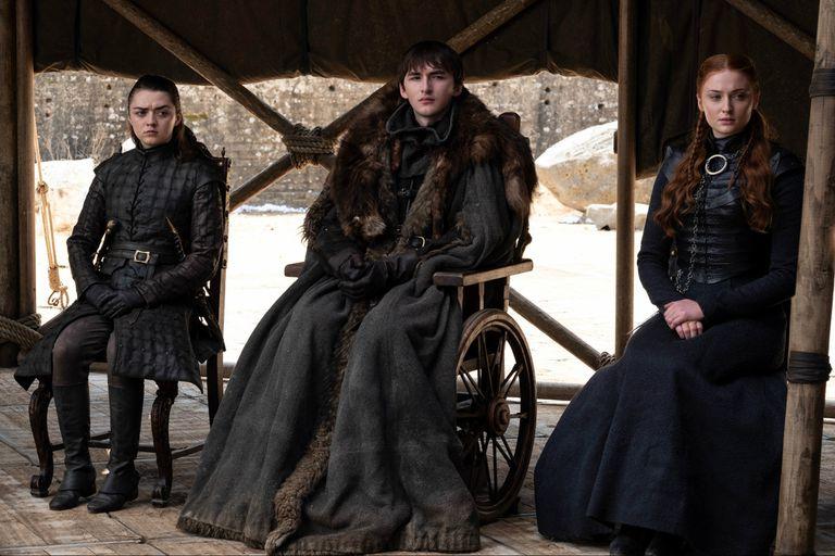 Los hermanos Stark, en el desenlace de Game of Thrones