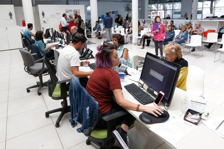 Según los empleados, la actividad decae en las horas del mediodía