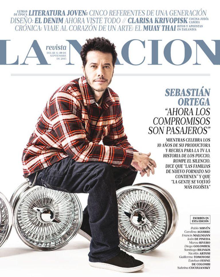 Sebastián Ortega, este domingo en LA NACION Revista