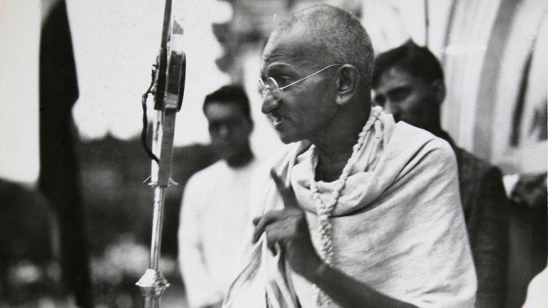 Mahatma Gandhi, el líder espiritual que trascendió a su India natal
