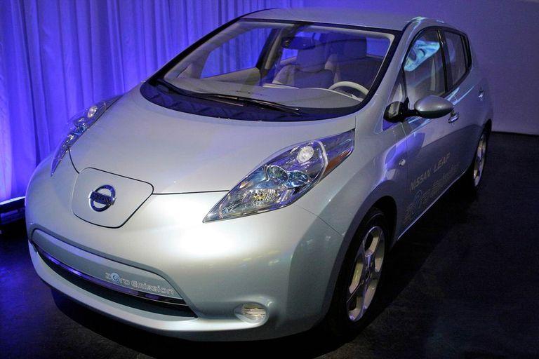 El Nissan Leaf, el vehículo eléctrico de la compañía japonesa