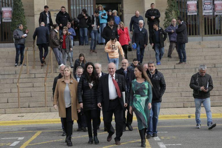 Parrilli, Gabriela Cerrutti, Taiana, Sabbatella, Tomada están en los tribunales