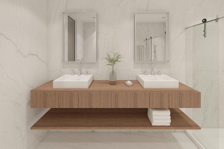 Los nuevos cuartos de baño: materiales y accesorios que suman funciones