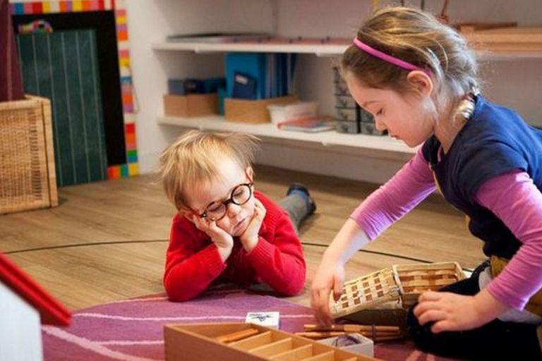 El aprendizaje colaborativo es una de las claves del método Montessori