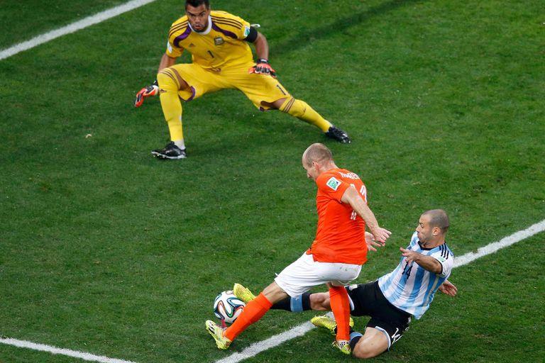 Mascherano: las imágenes y la frase por la que será recordado en el fútbol