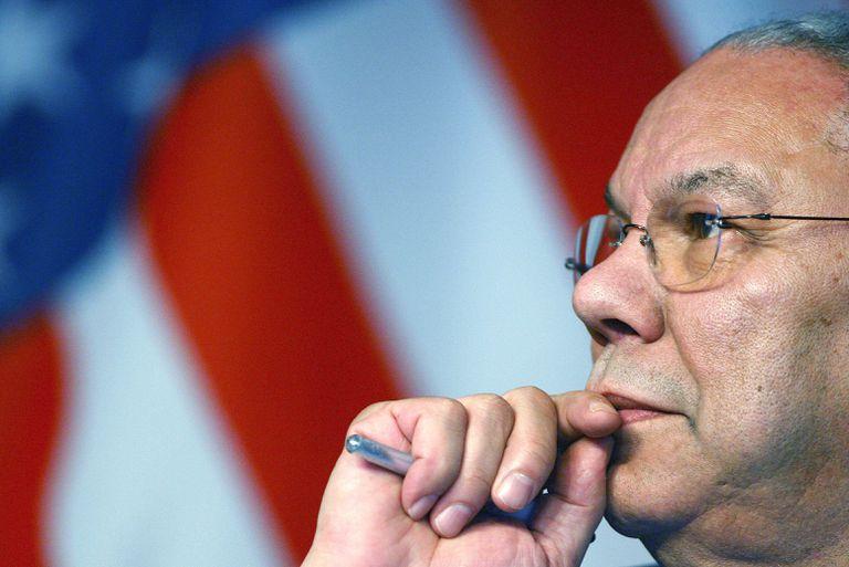 ¿Dónde estaba Colin Powell el 11/09/01?