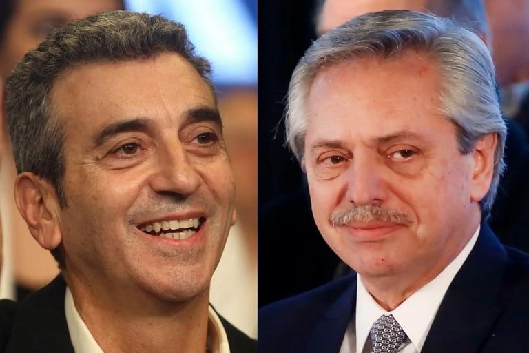 Florencio Randazzo tuvo de jefe de campaña a Alberto Fernández, a quien criticó en un encuentro virtual con militantes