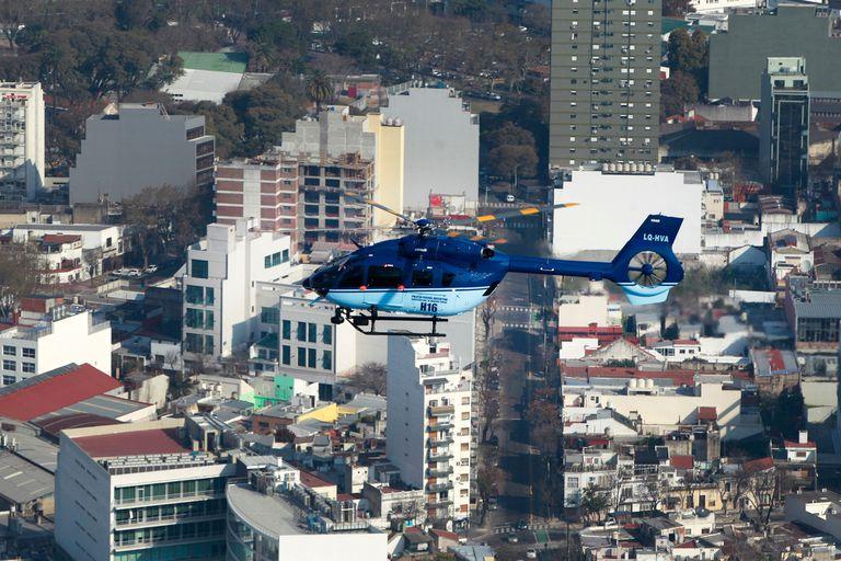 Nuevos helicopteros para combatir inseguridad y narcotrafico