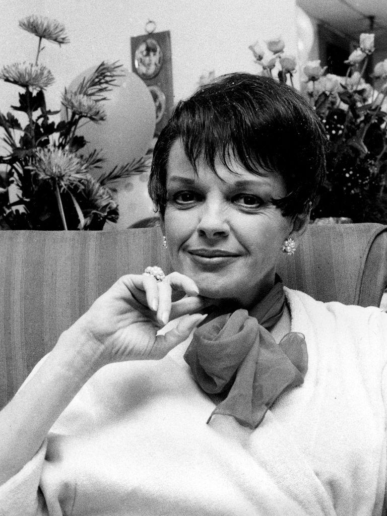 Judy Garland en sus últimos años