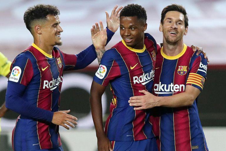TV del sábado: Barcelona ¿con Messi?, City ¿con Agüero?, Inter con Lautaro y más