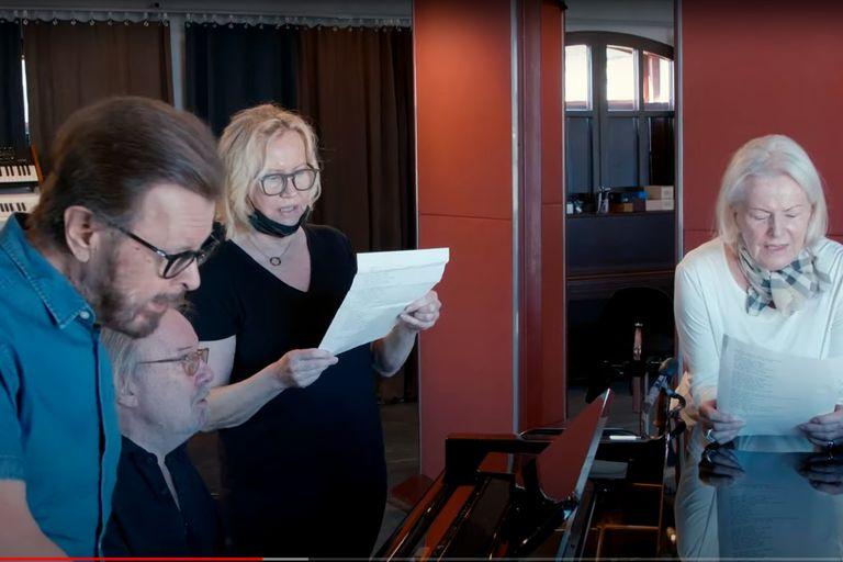 Björn, Benny, Agnetha y Frida grabaron nuevas canciones