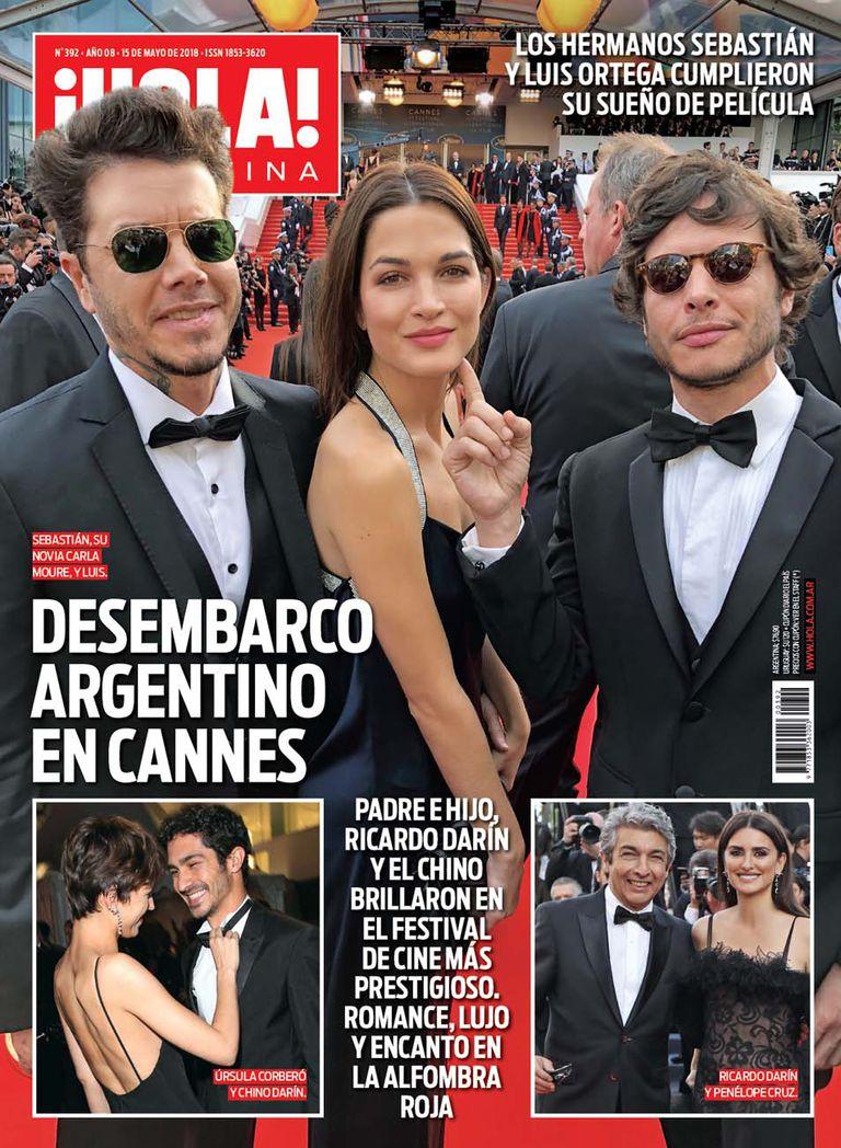 La tapa de esta semana de la revista ¡Hola! Argentina