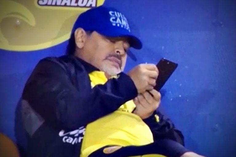 Según el análisis de las comunicaciones, siete de cada diez llamadas que recibía Maradona no eran atendidas