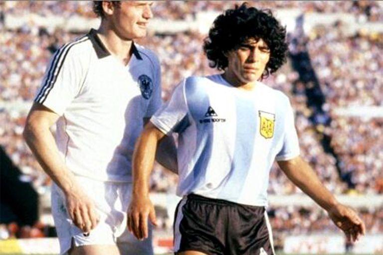 Diego Maradona formó parte del Mundialito, jugado en Montevideo entre diciembre de 1980 y enero de 1981.