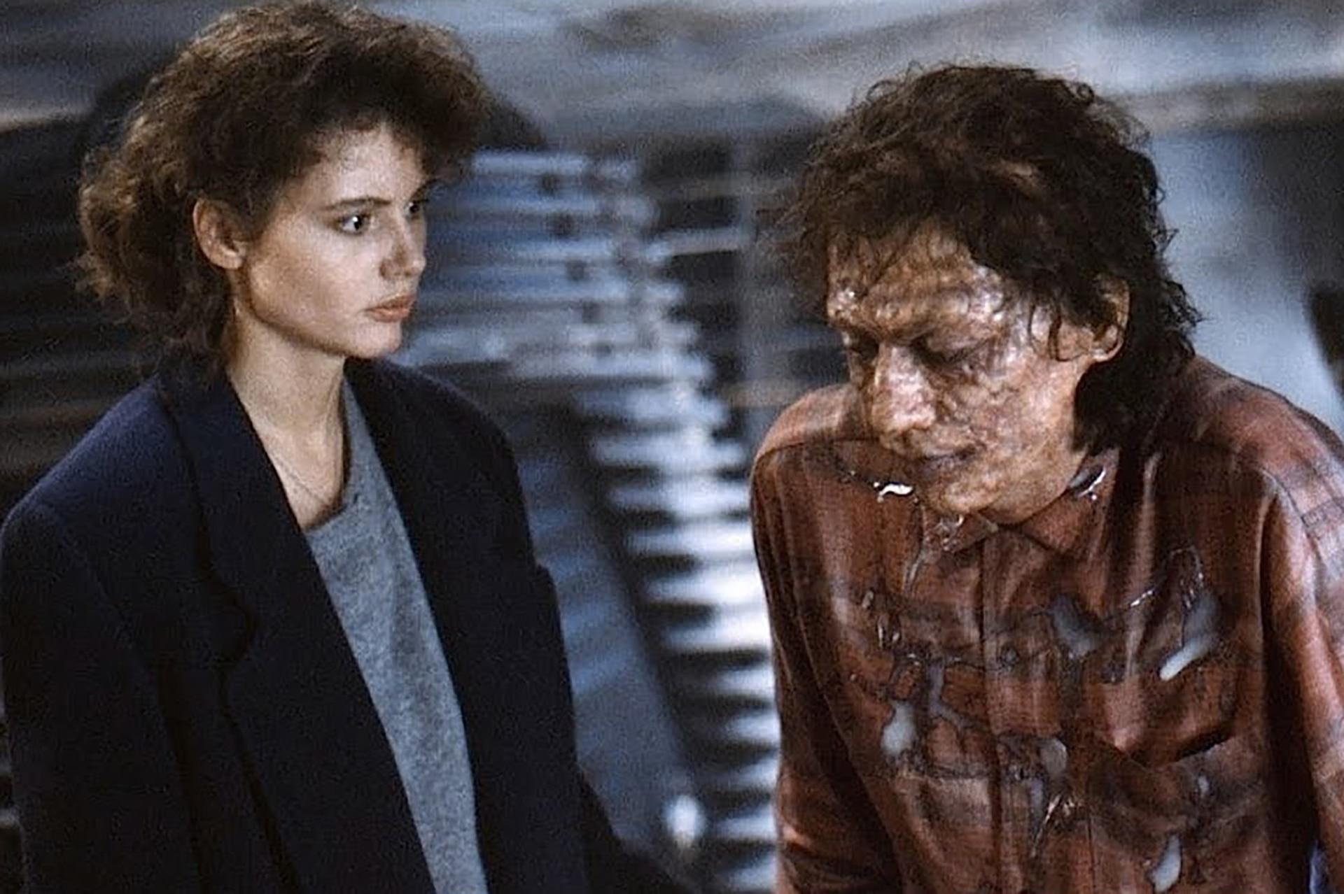 La gradual fusión a nivel genético del científico que interpreta Goldblum fue uno de los elementos que más atrajeron a Cronenberg a la hora de unirse al proyecto: los efectos especiales del film se llevaron el Oscar