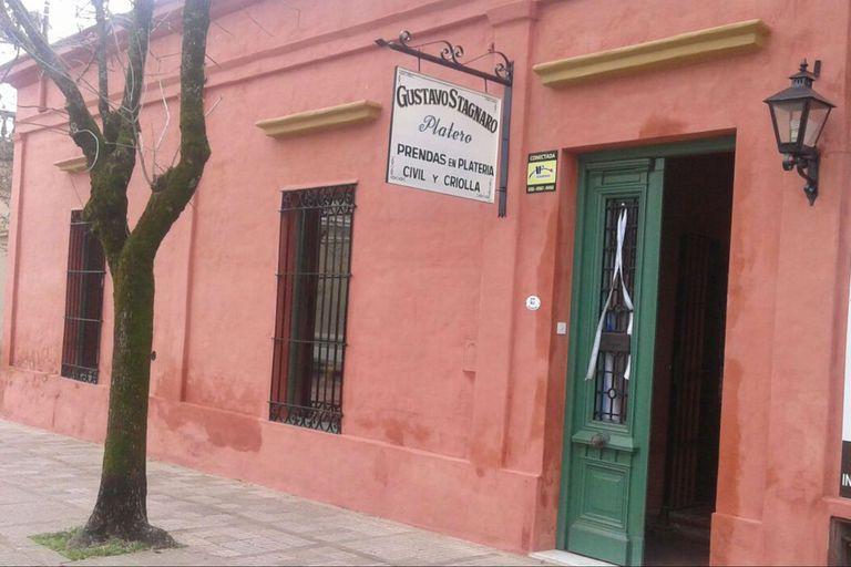 """El taller y negocio del """"Chavo"""" Stagnaro"""