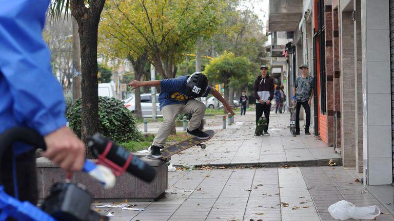 Gael Dabor se luce por las calles de Buenos Aires
