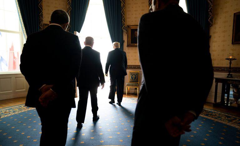 El presidente Donald J. Trump y el primer ministro Benjamin Netanyahu en la Casa Blanca en septiembre de 2020. Israel quería actuar mientras Trump todavía estaba en el cargo.