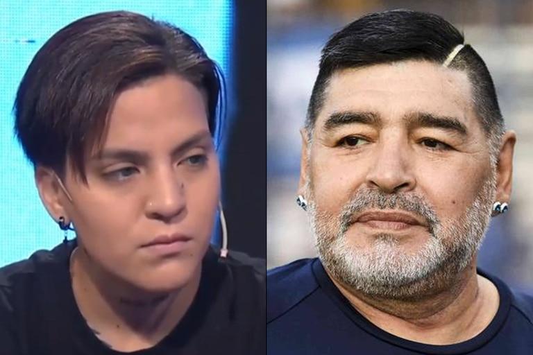 Hace dos meses, Eugenia Laprovíttola se enteró que podría ser hija de Diego Maradona y, tras su muerte, inició un juicio de filiación para corroborar si el jugador es efectivamente su padre