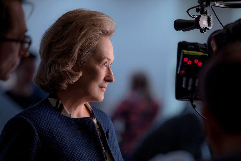 Meryl Streep da vida a Katharine Graham