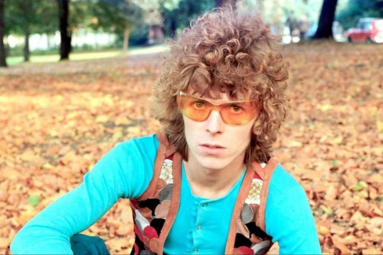 David Bowie en sus años hippies de finales de los sesenta