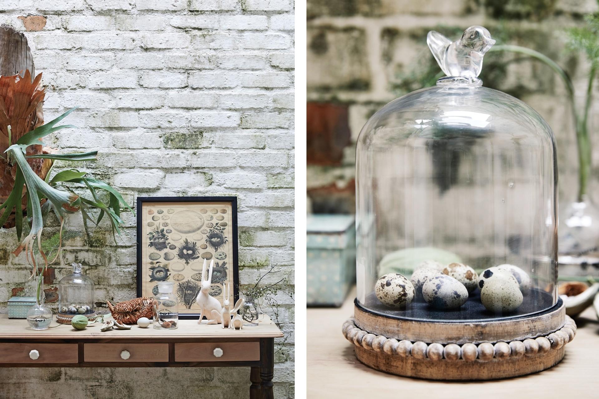 La idea es usar elementos que tenemos en casa y adaptarlos a la ocasión