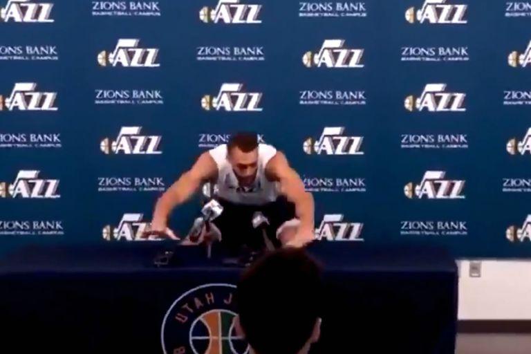 """Coronavirus. El """"chiste"""" poco feliz del jugador de la NBA que está infectado"""