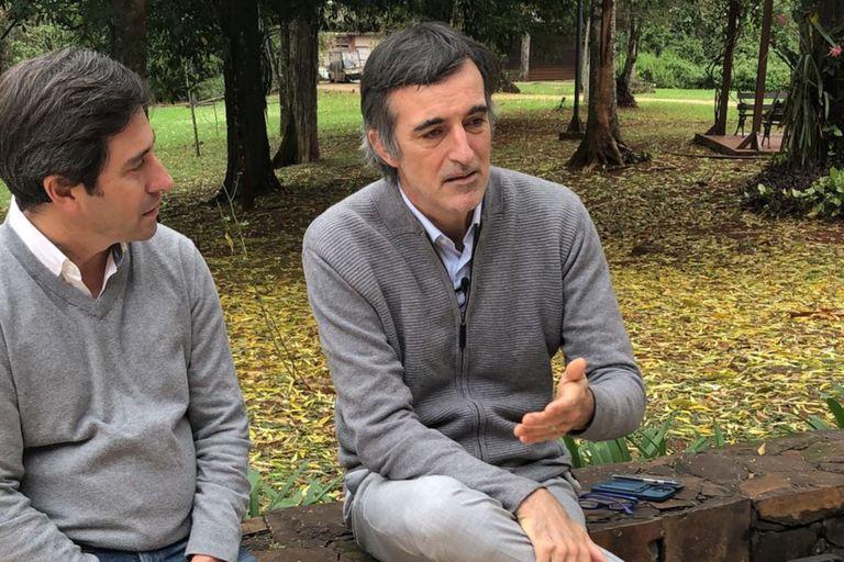 Esteban Bullrich conmovió a estudiantes en Iguazú