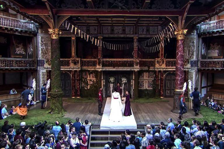 Coronavirus: podría cerrar el mítico Globe Theatre de Shakespeare, en Londres