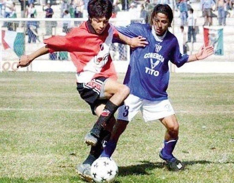 Los inicios de Enzo en Deportivo Maipú